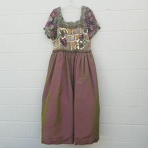 Victoria Royal Woman Silk Long Dress